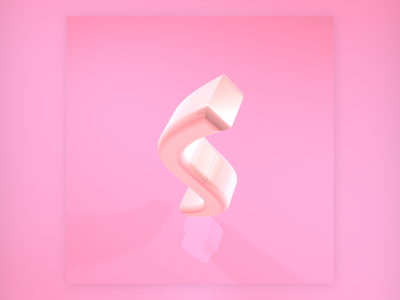 S design type design graphic design 36daysoftype type 3d