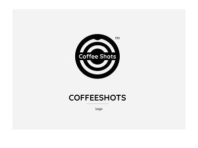 Logo CoffeeShots coffee logo vector illustration design