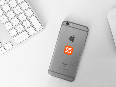 Sticker Branding phone iphone branding lxgesetze lx stickermule
