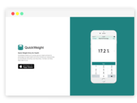 iOS Landing Page by apprack.io