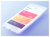 Wallet UI concept
