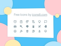 Free icons in 17 styles