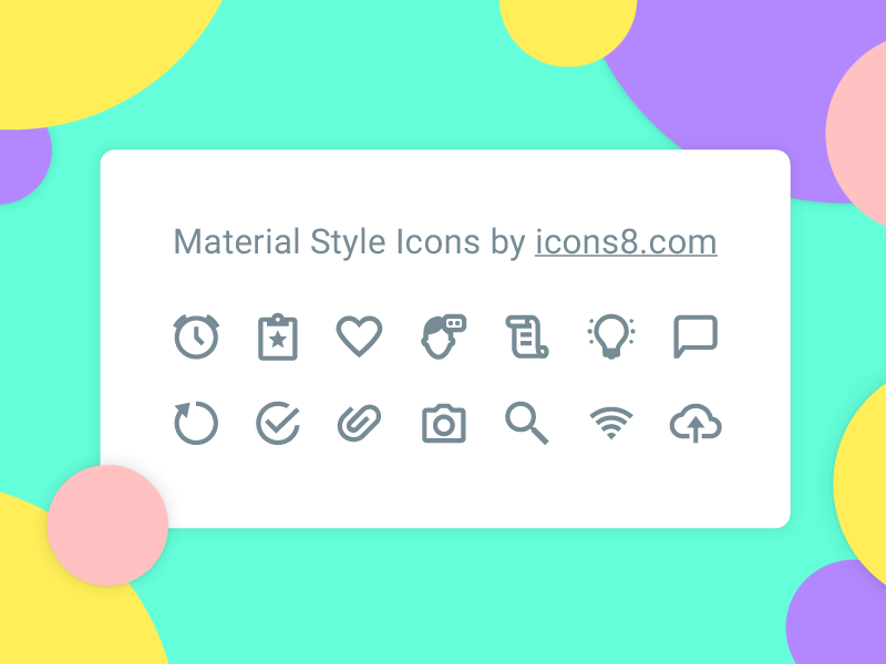 Material icons material ui kit free freebie offline set icons icon