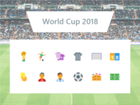 2018 FIFA World Cup Icons