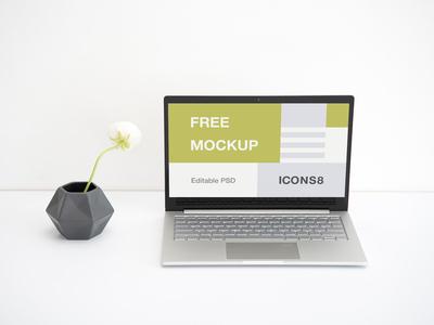 Workspace Laptop Mockup