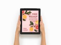 Free Mockup - iPad 12.9''