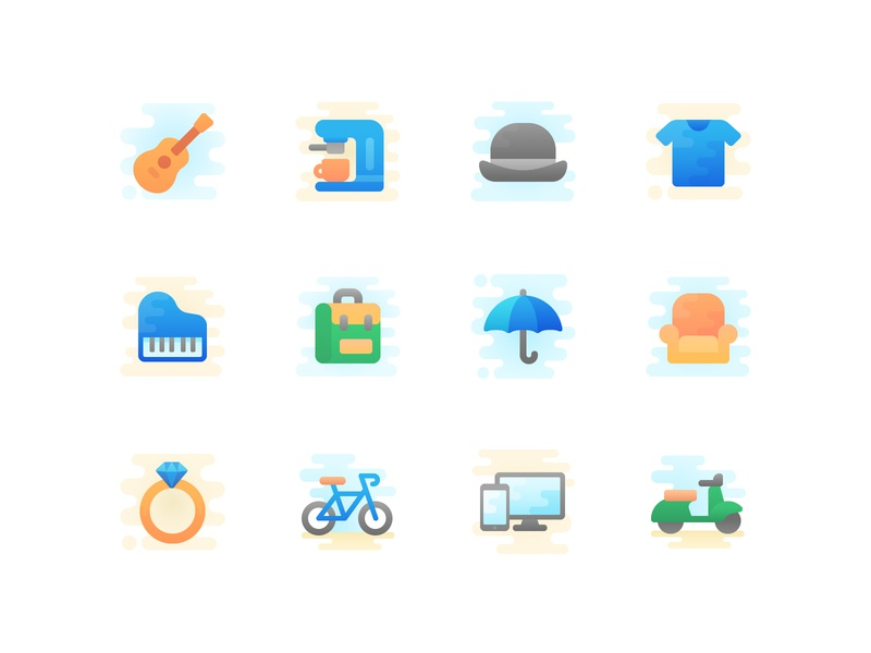Free Cool Color Icon Set