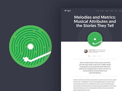 Viget Blog Icon - Melodies & Metrics icon
