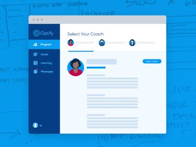 Optify Case Study product design app branding