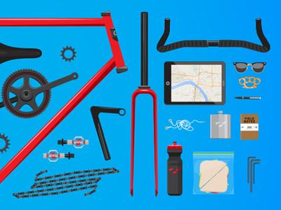 More Bike Pieces