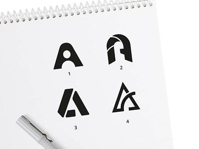 Letter A sketches logo design a curve logo a user logo a design letter design letters initial a mark letter a sketches lettera letter a