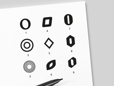 Letter O designs icon design logodesign logo oletters sketches icon logo design exploration mark lettermark letter-o letters lettero