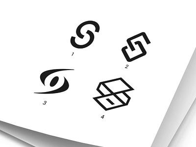 S&O Letter mark design letter design letters monogram lettermark so logo design so letters
