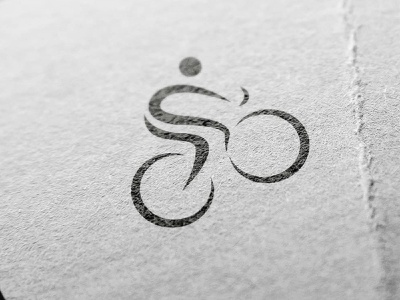 Cycling + S Logo cycling letter s cycle logo fietsend fietser fiets logo cyclist logo cyclist cycler cycling s logo cycling logo bike cycling