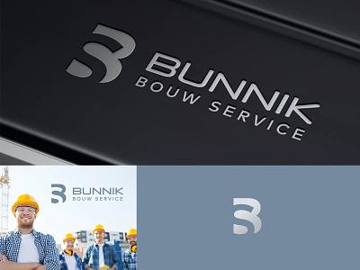 Bunnik Bouw Service bunnik logo building logo construction logo building service bouw bunnik