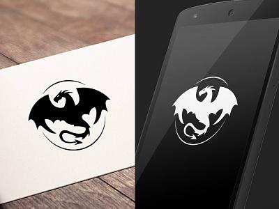 Wyvern / Dragon Logo animal logo design logo dragon wyvern