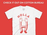 Holla on Cotton Bureau