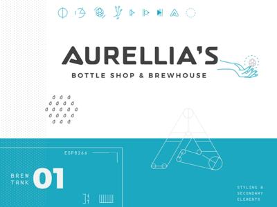 Aurellia's Bottle Shop & Brewhouse minimalist futuristic future beer brewery