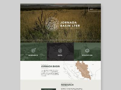 Jornada Basin Research Website new mexico wilderness wild nature southwest data website research