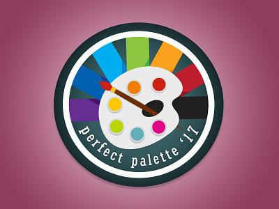 Perfect Palette Merit Badge designers icon badge prompt002