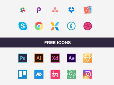 Free Icon Set For Designer's Workflow