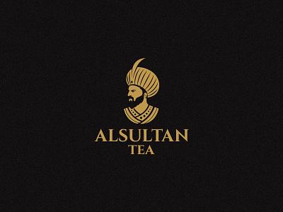 Al Sultan Tea face cafe arabic ottoman luxury luxurious logo tea sultan alsultan