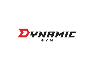Dynamic Gym logo athletic workout healthclup health fitness sport crossfit