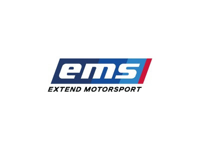 Extend Motorsport sport speed racing ems motocross logo dragrace auto motorsport extend