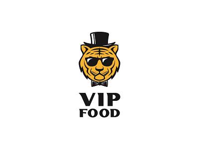 VIP Food bow tie sunglasses hat jaguar cheetah lion tiger cooking restaurant food vip