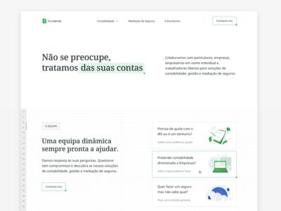 📒Escritorres Landing Page