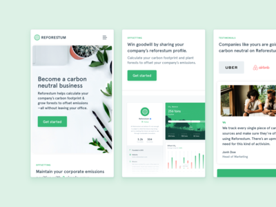 🌳Reforestum's B2B — Mobile