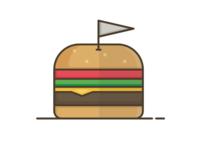 Portland Burger Week Illustration 1
