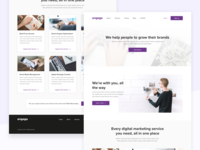 Digital Marketing Service Landing Page