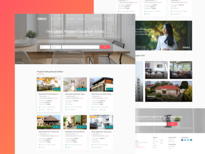 Inmax Property - Website Redesign