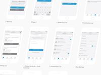 RocketOn App Wireframes - WIP