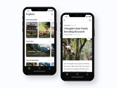 Travel Guide App