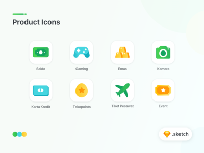 Product Icons Exploration - Freebie