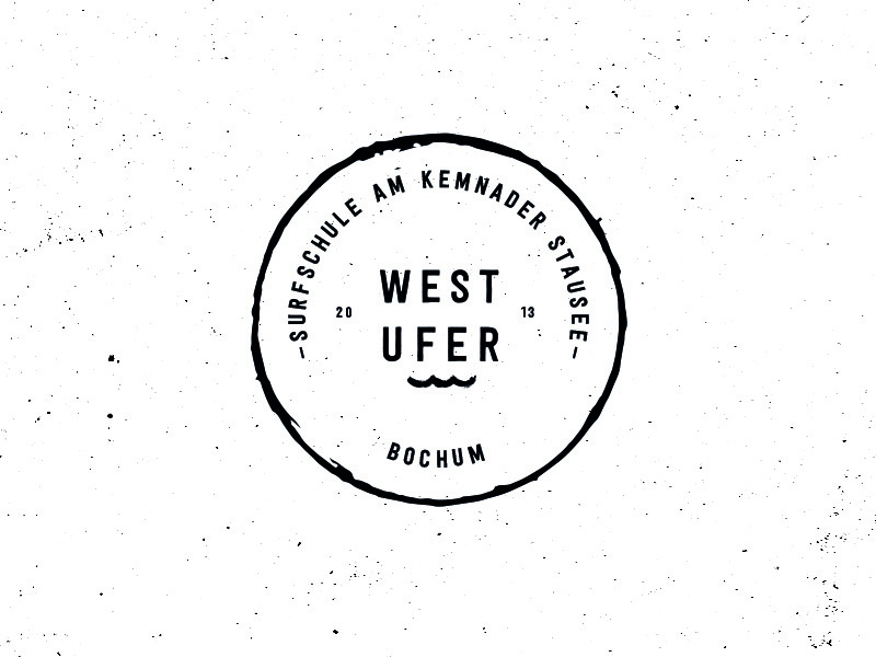 West Ufer Brandmark Redesign handmade retro circle vintage sign mark stamp brandmark branding brand logodesign logo