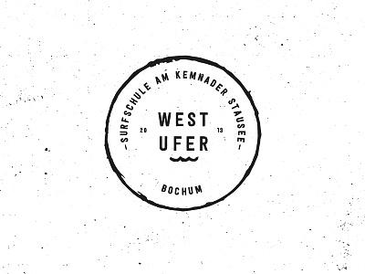 West Ufer Brandmark Redesign handmade retro circle vintage sign mark stamp brandmark branding brand logodesign logo