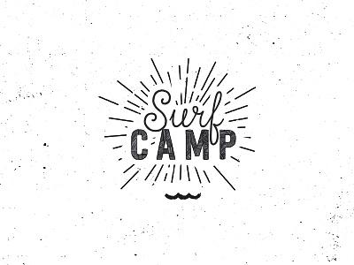 West Ufer Surfcamp brandmark brand logo handmade retro vintage stamp analog sup surf