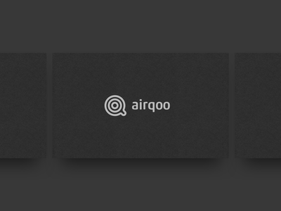 Airqoo Logo typography typo brandmark technology branddesign tech brand branding logodesign logo