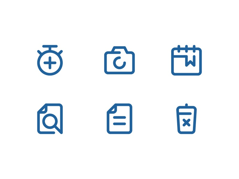 Material Icons - minimal Line icon website vector ui symbol outline line illustration icon app