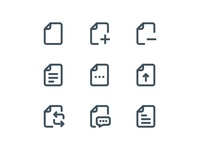 Material Icons - File And folder