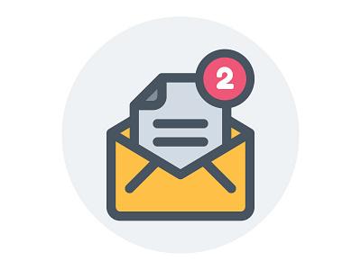 2 Dribbble invites invites website vector ui symbol outline line illustration icon app