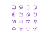 50 Free Mix line icons