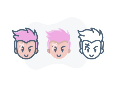 Overwatch - Zarya :) character player overwatch icon illustration game fps