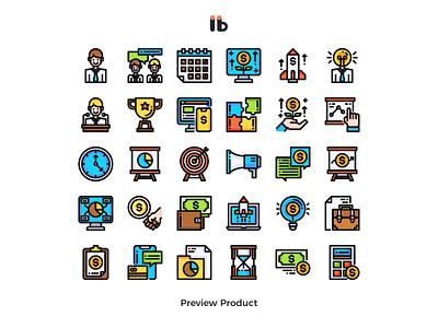 Entrepreneur (business startup) business vector ui symbol line illustration icon
