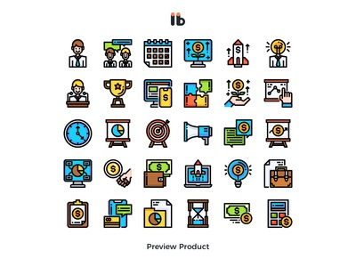 Entrepreneur (business startup) business vector ui symbol line illustration icon
