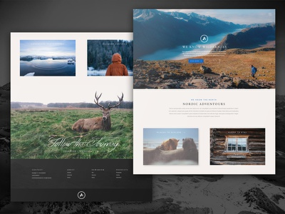 Nordic Adventours nordic photography adventure outdoors conceptui