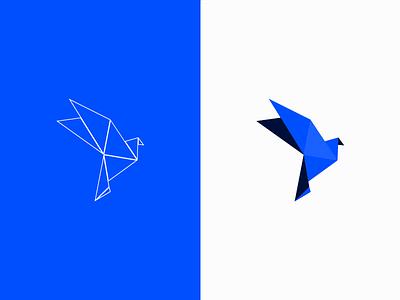 Bluebird logo bluebird birdlogo bird